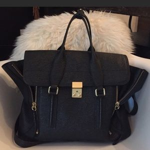 3.1 Philip Lim Pashli - Large / Black w/ gold HW